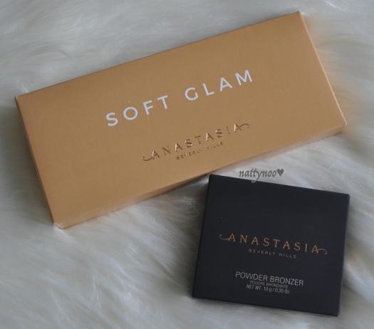 ABH soft glam & powder bronzer
